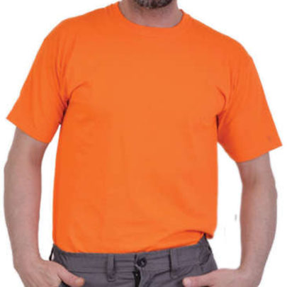 T-SHIRT FRUIT OF THE LOOM ΠΟΡΤΟΚΑΛΙ